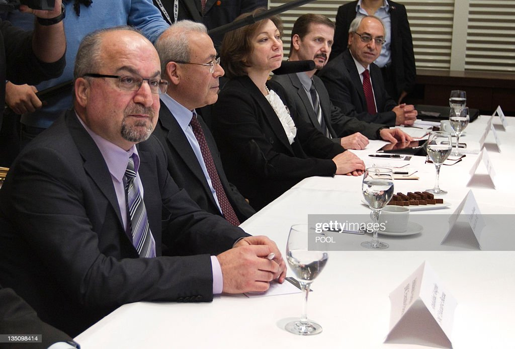 Syrian dissidents meet with unseen US Se : News Photo