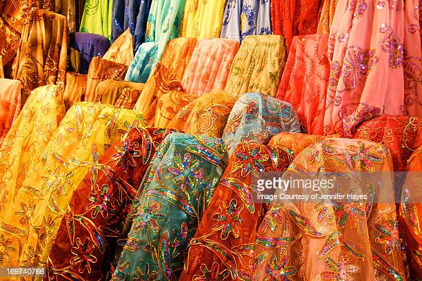 Syrian Fabrics in the Souq