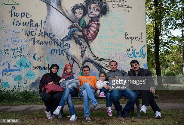 A Syrian family of Aleppo came to Bayernkaserne and now expects to apply for asylum Munich September 20 2015 The bayernkaserne is a reception center...