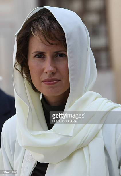 Asmaa Al Assad Stock Photos and Pictures | Getty Images
