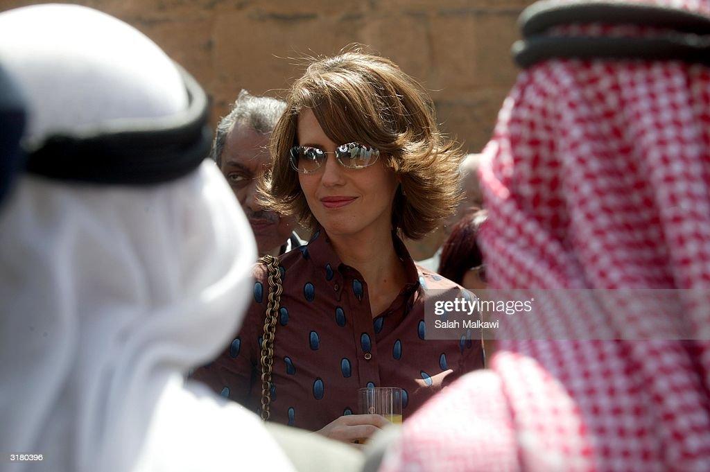 Syrian First Lady Asmaa Al Asad Holds Photo Call : News Photo