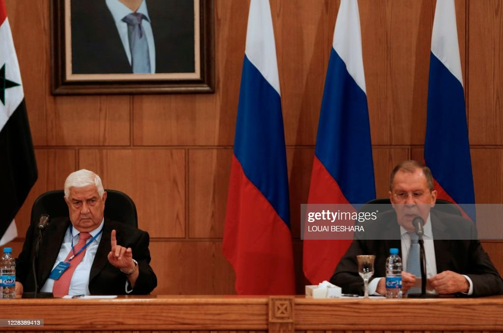 SYRIA-RUSSIA-CONFLICT-DIPLOMACY : News Photo
