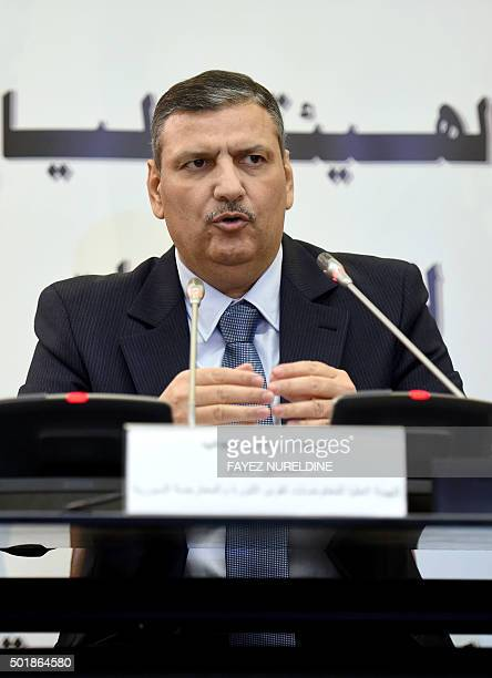 Syrian former prime minister and newlyelected general coordinator for the opposition's High Committee expected to head up future peace talks Riad...