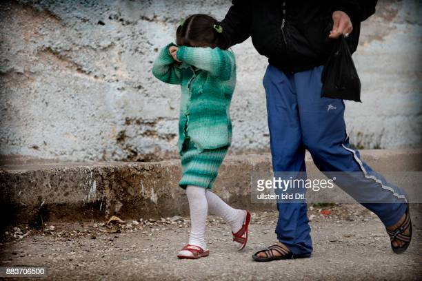 Syrian girl is devastated by the loss of her family and feels isolated