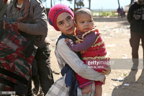 Syrian girl Noor famous for broadcasting clips in English on social media about the regimebombardments on the former rebelheld town of Jobar in...