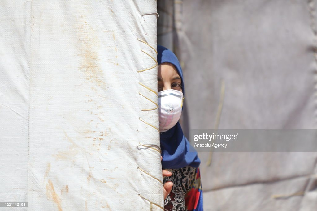 Daily life in refugee camps in Idlib : News Photo