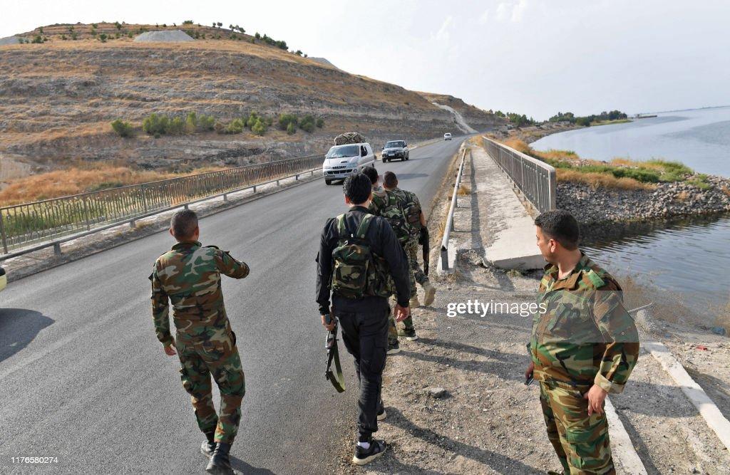 SYRIA-CONFLICT-KURDS : ニュース写真