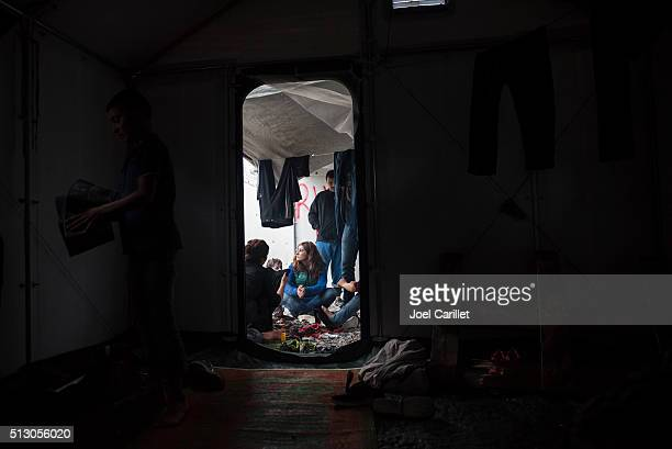 Syrian Kurdish refugees on Lesbos