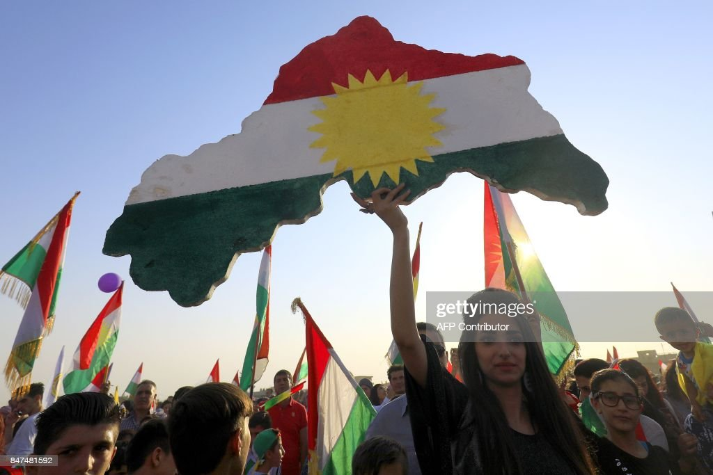 TOPSHOT-SYRIA-CONFLICT-KURDS : News Photo