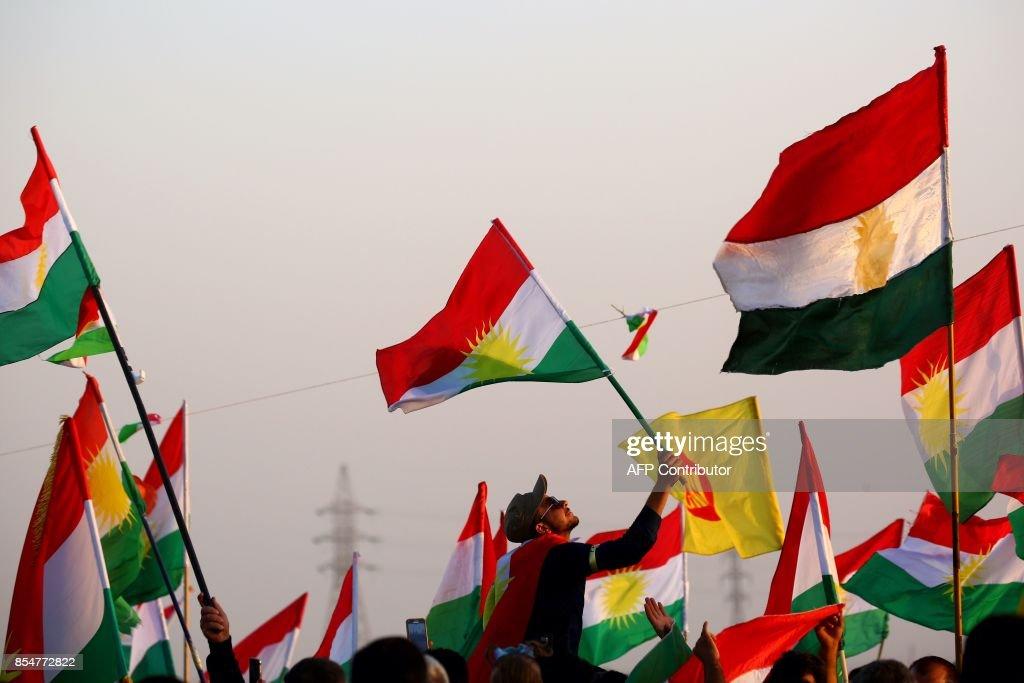 SYRIA-CONFLICT-IRAQ-KURDS-REFERENDUM : News Photo