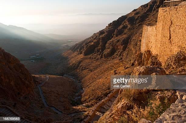 Syrian landscape at Deir Mar Musa