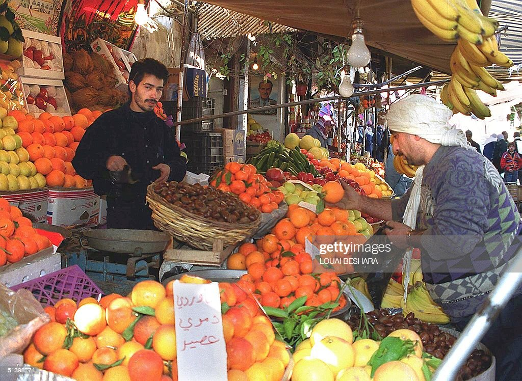 Good Syria Eid Al-Fitr Food - syrian-man-stocks-up-on-fruits-and-vegetables-in-damascus-07-january-picture-id51398774  Graphic_136140 .com/photos/syrian-man-stocks-up-on-fruits-and-vegetables-in-damascus-07-january-picture-id51398774