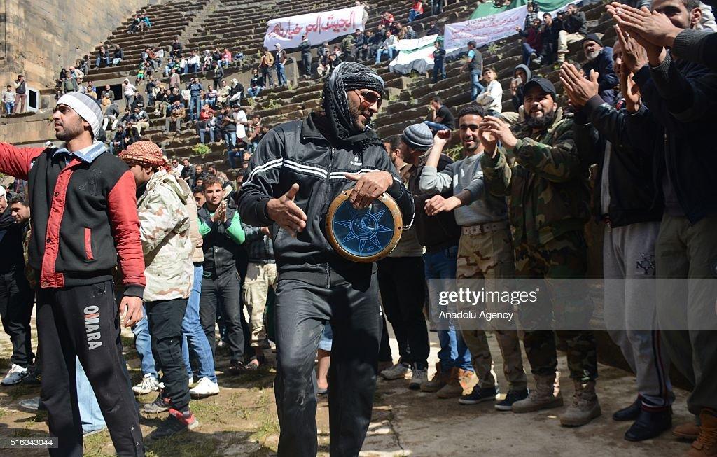 Anti regime protest in Syria : News Photo