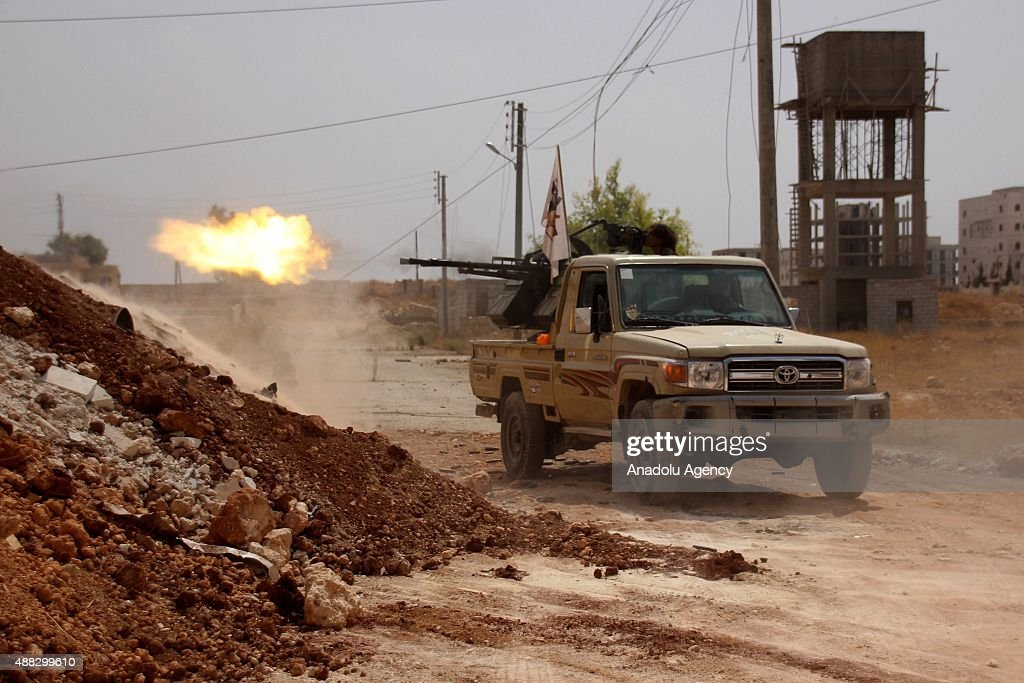 Syrian Civil War : News Photo
