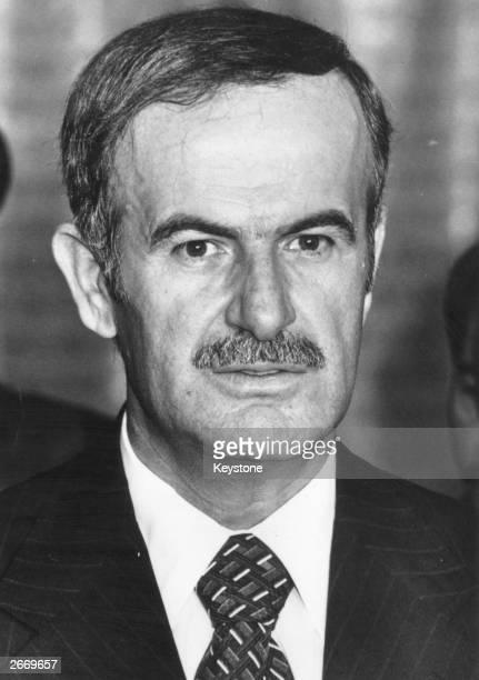 Syrian President Hafez al-Assad.