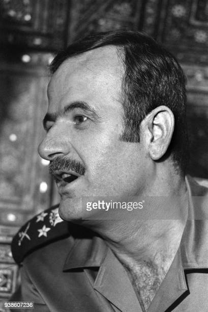 Syrian President Hafez alAssad pictured 27 October 1973 after a prayer in the Omayyad Mosque in Damascus Hafez alAssad died 10 June 2000 of a heart...