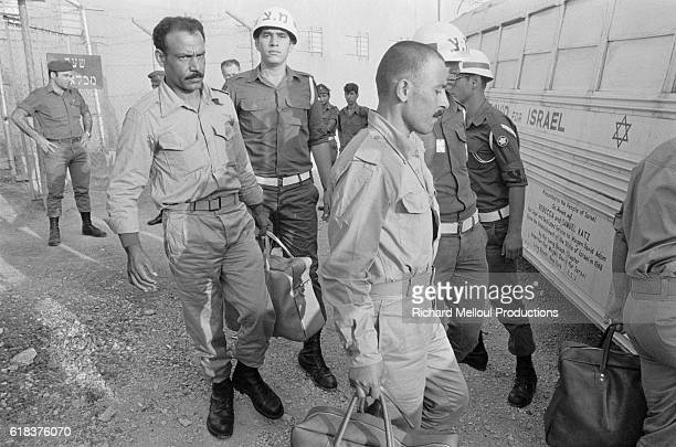 Syrian prisoners of war are repatriated after an exchange of prisoners was negotiated between Israel and Syria. In October of 1973, Syria and Egypt...