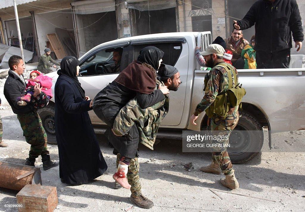SYRIA-CONFLICT-ALEPPO : Photo d'actualité