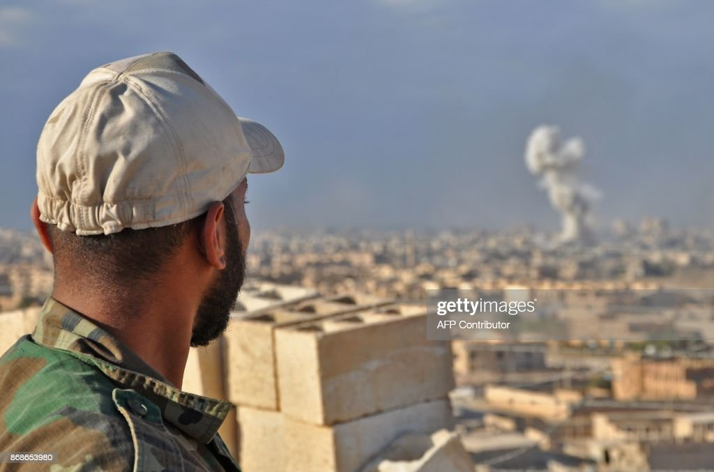 SYRIA-CONFLICT-DEIR EZZOR : News Photo