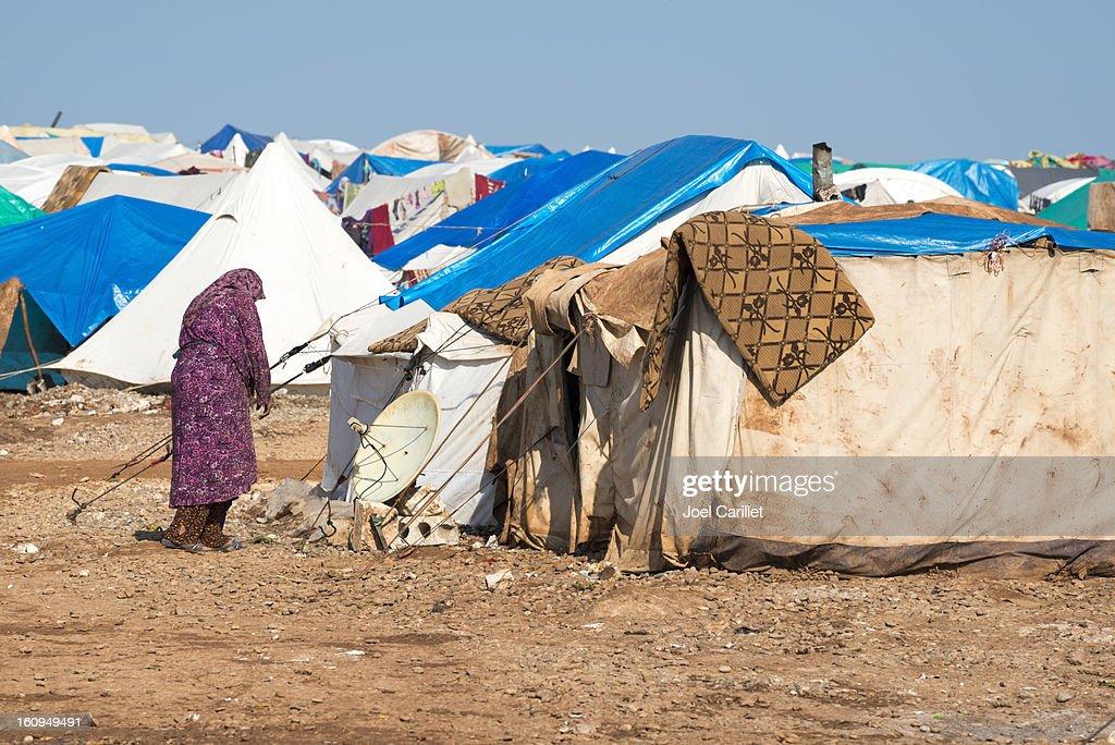 シリア難民危機 : ストックフォト