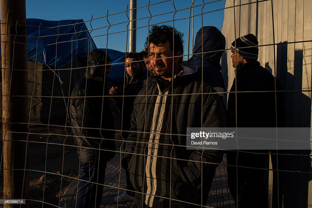 Number Of Syrian Refugees Rises At The Spanish Border Of Melilla : News Photo