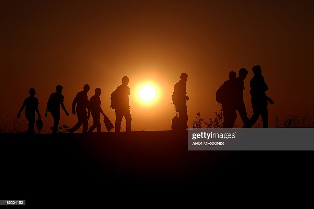 SERBIA-HUNGARY-EUROPE-MIGRANTS : News Photo