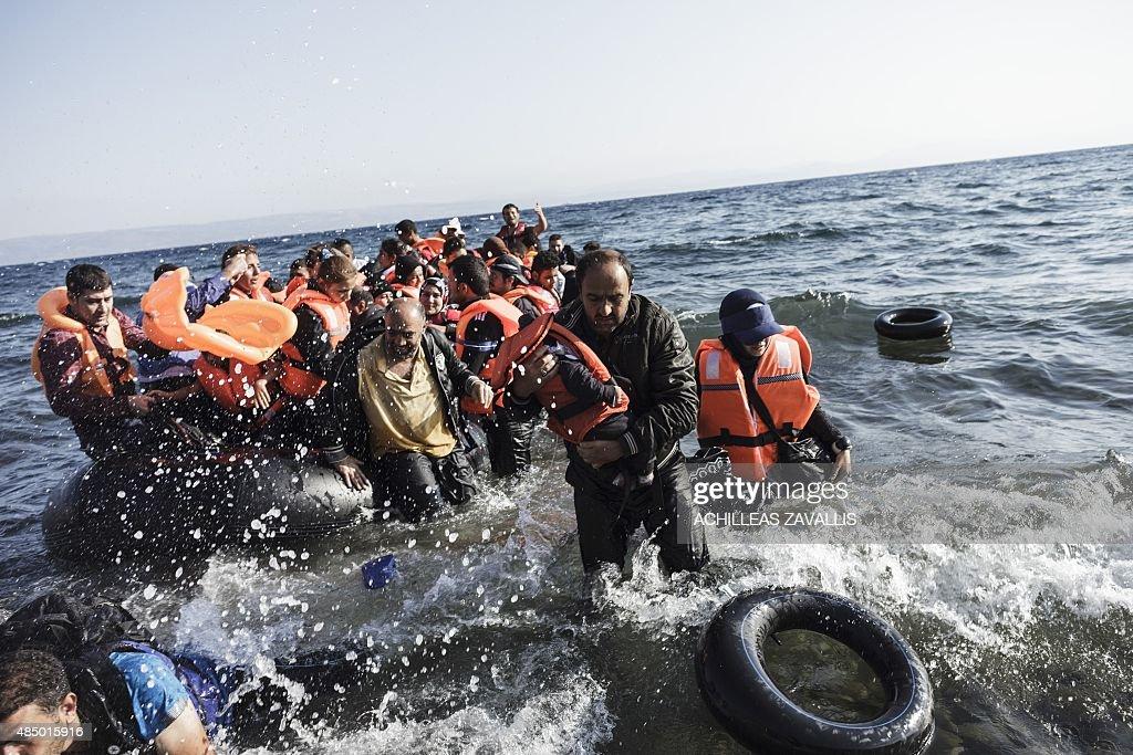 GREECE-TURKEY-EUROPE-MIGRANTS : News Photo