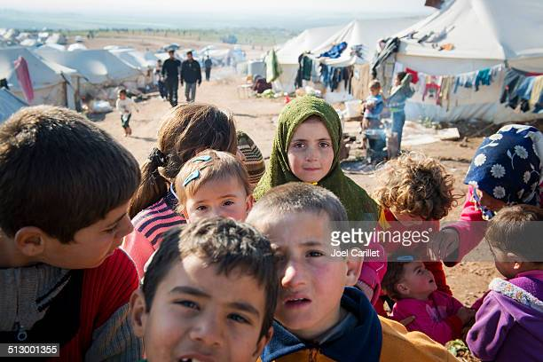 syrian refugees inside syria - war stock pictures, royalty-free photos & images
