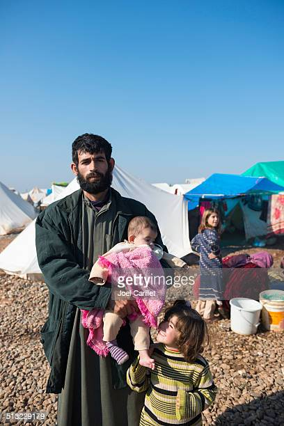 syrian refugees inside syria - syria stock pictures, royalty-free photos & images