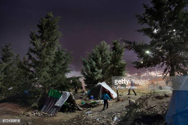 Syrian refugees live the well maintained Killis camp run by the Turkish government on the Turkish side of the Turkish Syrian border in Turkey October...