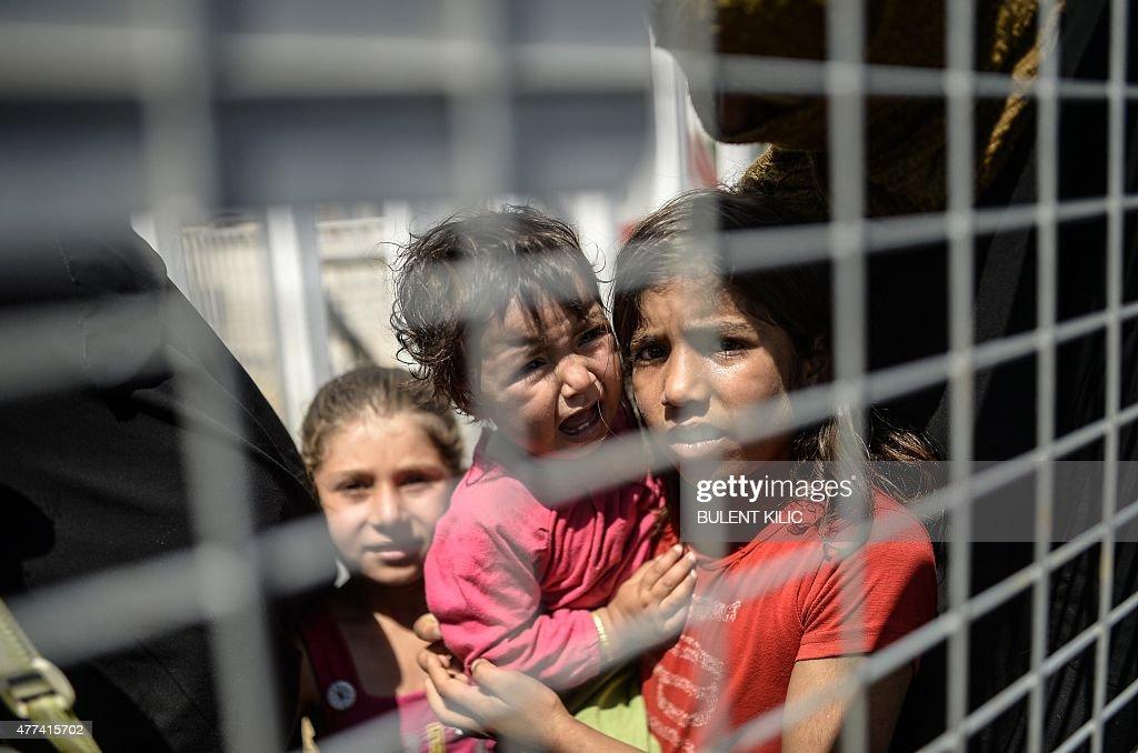 TURKEY-SYRIA-CONFLICT-REFUGEES : News Photo