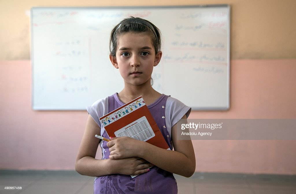 Syrian refugee kids receive education in Turkey : News Photo