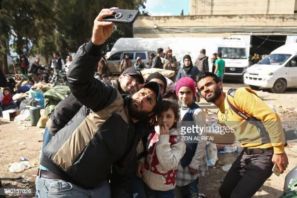 Syrian sisters Noor and Alaa famous for broadcasting clips in English on social media about the regimebombardments on the former rebelheld town of...