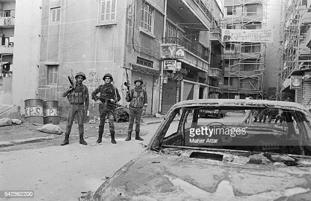 Syrian Soldiers in West Beirut