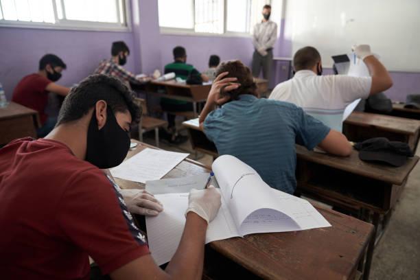 SYR: Middle School Exams In Idlib During The Coronavirus Crisis