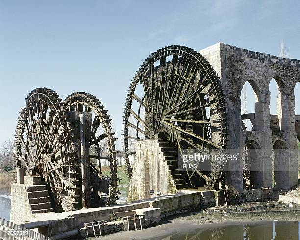 Syrian The Norias of Bechriyyat in Hama The waterwheels at Hama known as Norias are up to 20m high and have been standing since the 13th century...
