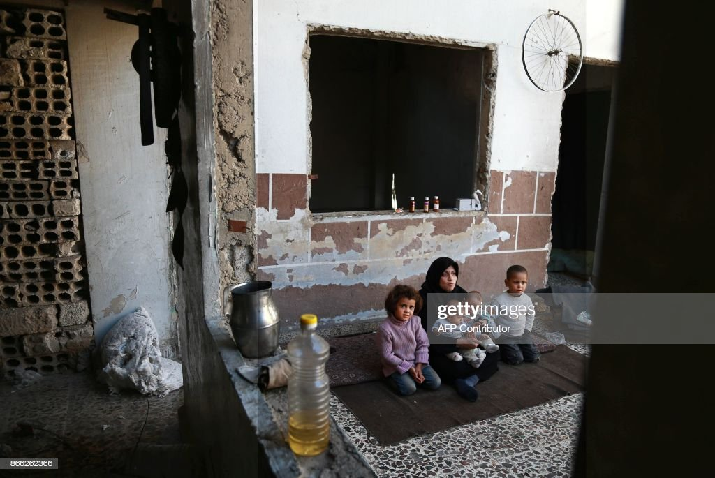 TOPSHOT-SYRIA-CONFLICT : News Photo