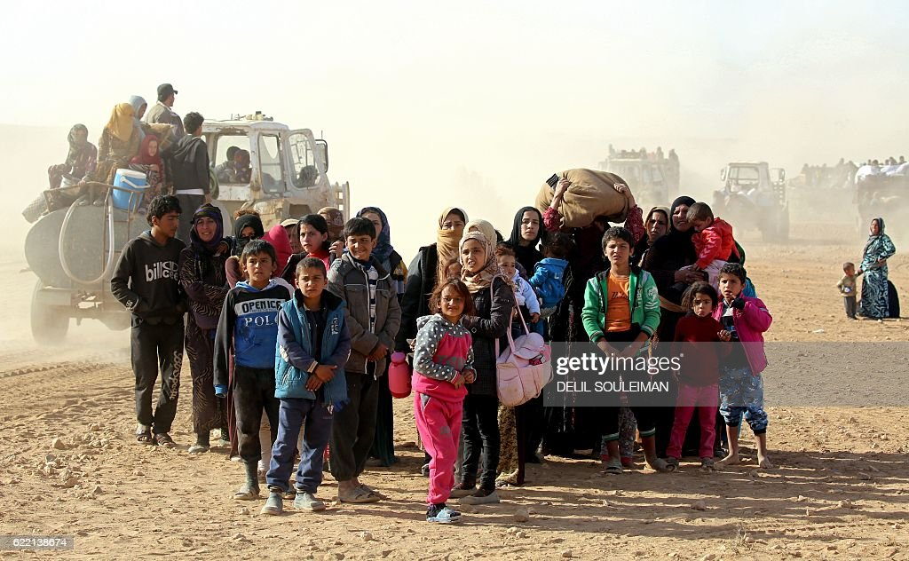 SYRIA-CONFLICT-REFUGEES : News Photo