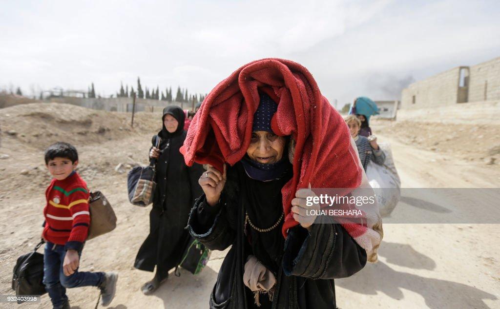 Fleeing Eastern Ghouta