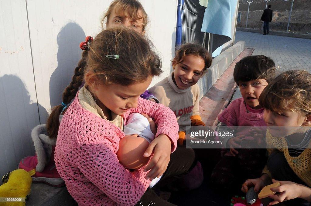 Syrian Civil War's victims in Turkey : ニュース写真