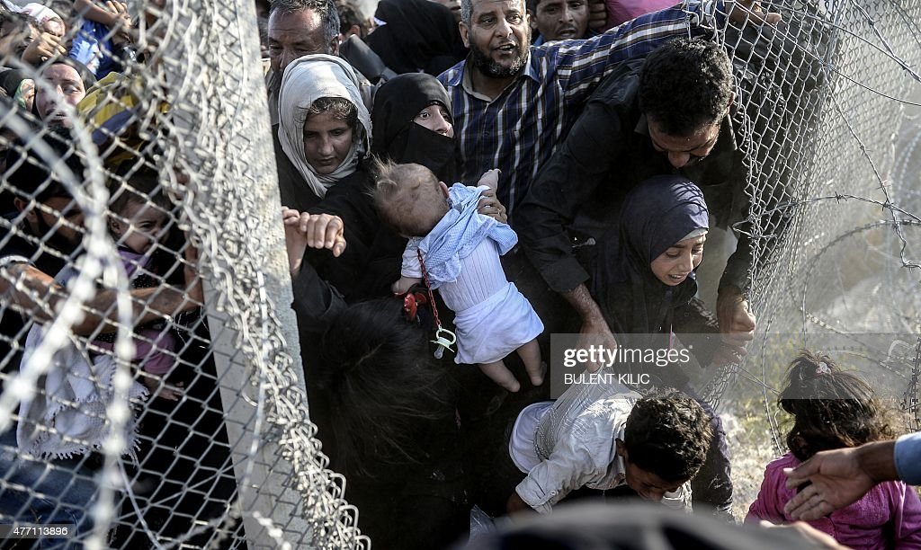 TURKEY-SYRIA-REFUGEES : News Photo