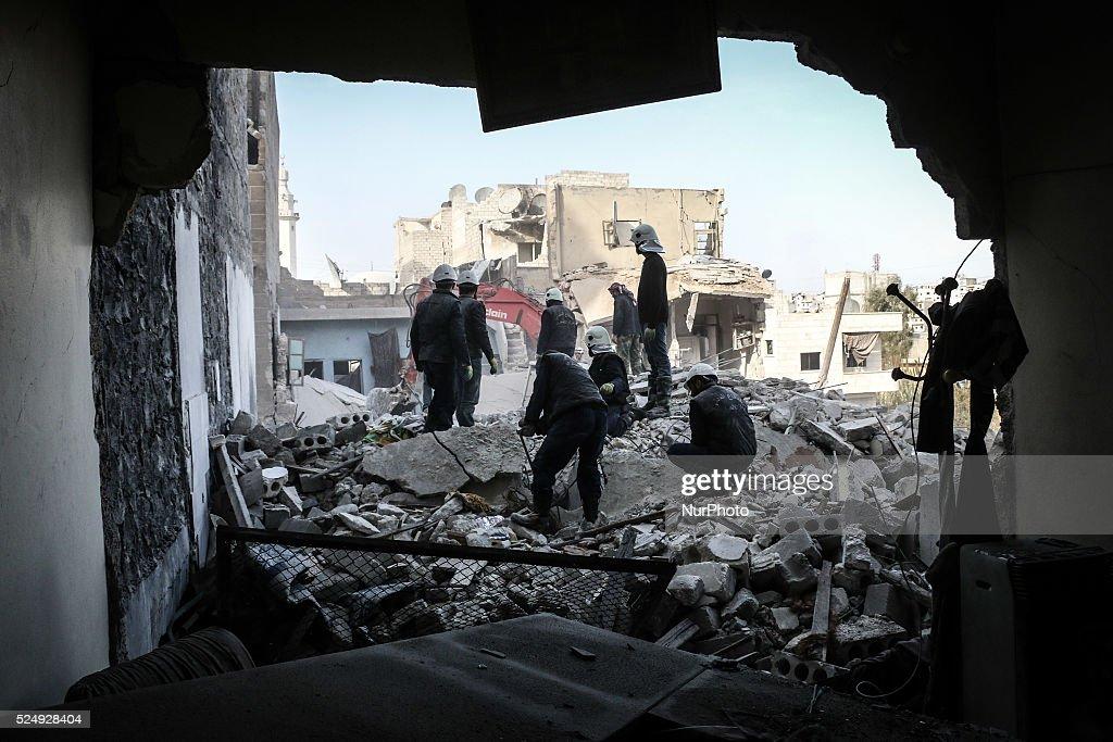 War in Syria : News Photo