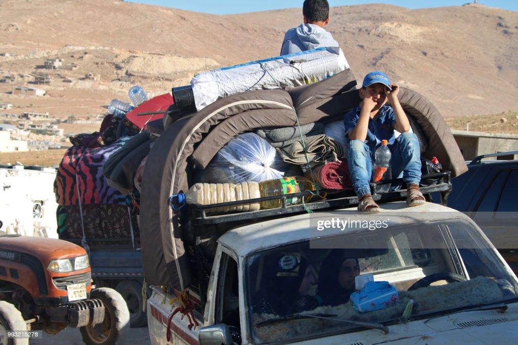 LEBANON-SYRIA-CONFLICT-REFUGEE : News Photo