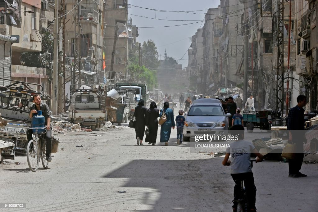 SYRIA-CONFLICT-GHOUTA : News Photo