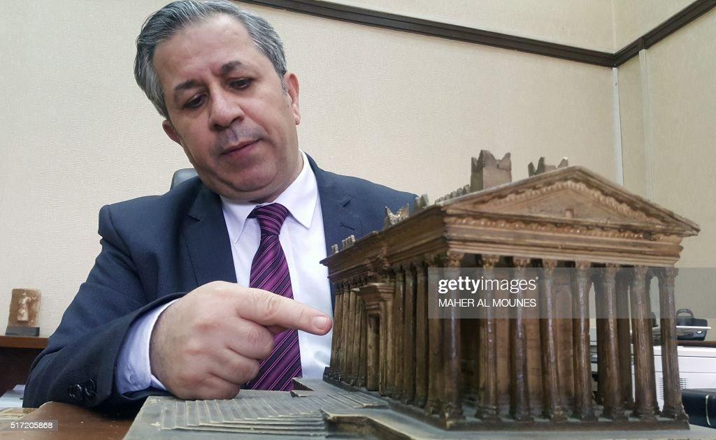 SYRIA-CONFLICT-PALMYRA-ANTIQUITIES : News Photo