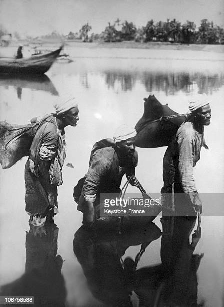 SyriaTraditional Water Holders In The 1930'S