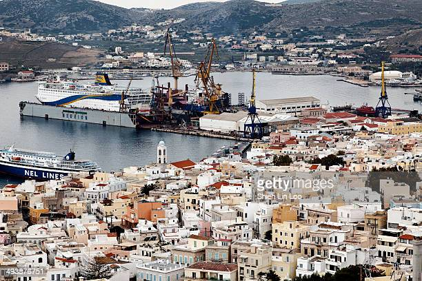 CONTENT] Syros or Siros or Syra a Greek island in the Cyclades in the Aegean Sea Greece where Greek tradition and western influence come to a...
