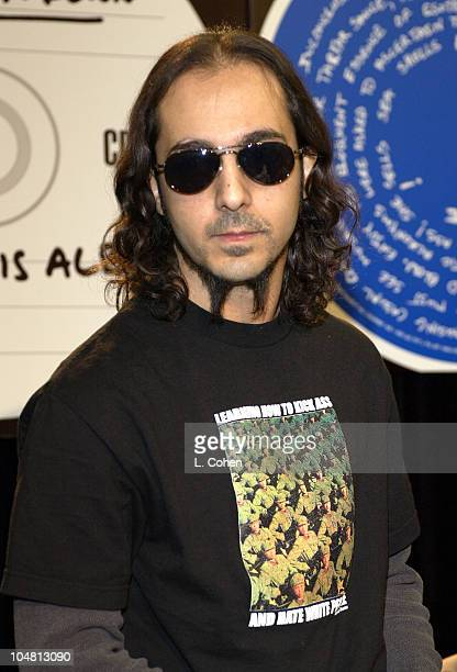 System Of A Down Daron Malakian during System Of A Down InStore Appearance to Support Their New CD 'Steal This Album' at Tower Records Glendale Store...