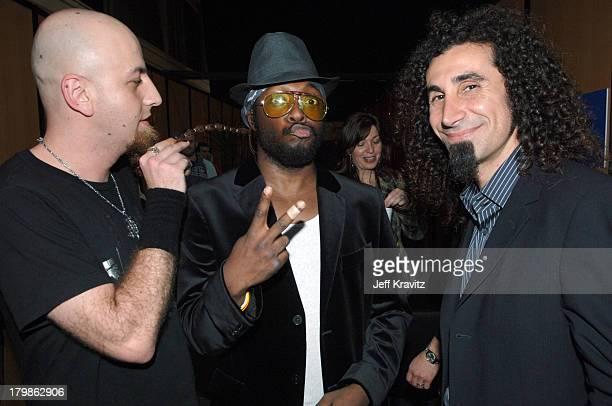 System Of A Down during 2005 MTV European Music Awards Lisbon Backstage at Atlantic Pavillion in Lisbon Portugal
