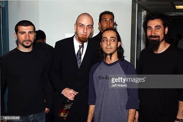 System of a Down during MTV Video Music Awards Latinoamerica 2002 at Jackie Gleason Theater in Miami FL